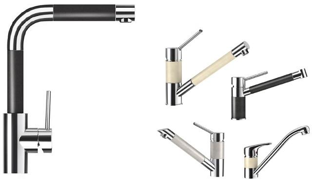 Armatura – baterie zpierścieniami granitowymi