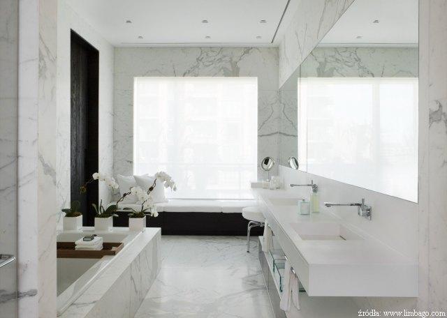 łazienki Z Jasnego Marmuru Kamienportalpl