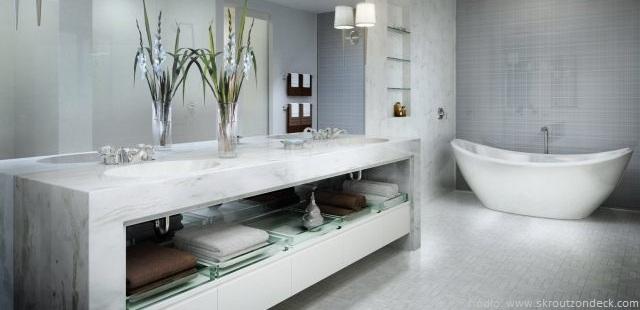 marmurowe umywalki