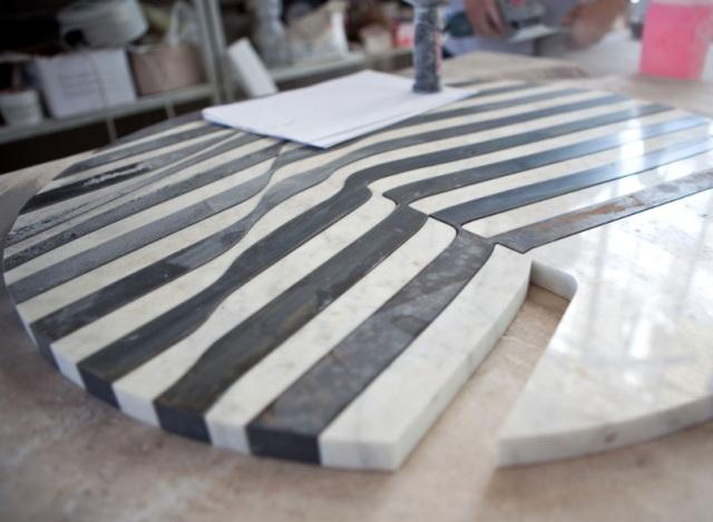 Stoły z marmuru - produkcja